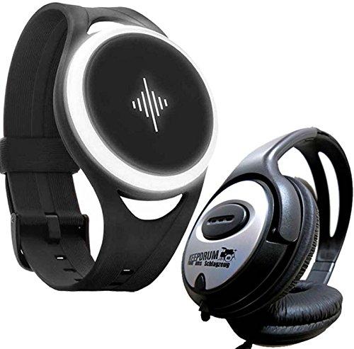 Soundbrenner Pulse mobiles Vibrations-Metronom + keepdrum Kopfhörer