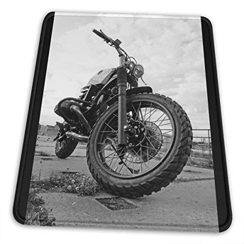 Mousepad,Motocross Dirt-Bike Gaming Pad, Weiches, Komfortables, Rutschfestes Mauspad Für Heim-Pc-Dekor,18x22cm