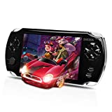 MUS RUN Handheld Game Console, Portable Video Game Console 5 'Screen 3000 Classic Games, Support / GBA / GBC / NES / BIN / SMC, Best Gifts for Kids