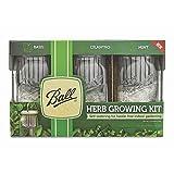 Ball 1440016022 Self-Watering Herb Growing Kit, Clear
