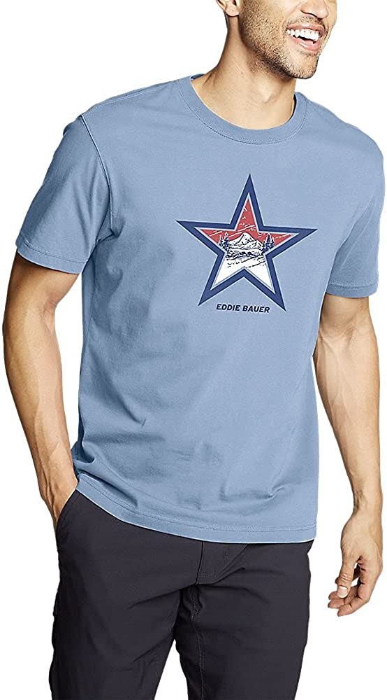Eddie Bauer Men's Graphic T-Shirt - US Landscape
