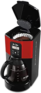 Mr. Coffee BVMC-ECX46-DTS Performance Brew 12-Cup Programmable Coffee Maker Red
