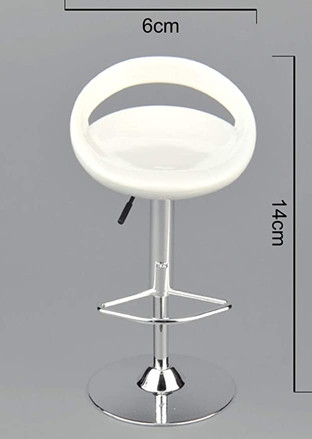 """Details about  /ZYTOYS 1//6th Bar Swivel Black Round Chair Model Toy for 12/"""" Action Figure ZY3004"""
