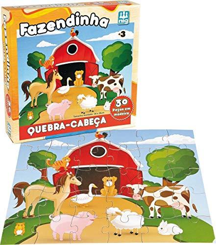 Quebra-Cabeça Fazendinha, Nig Brinquedos