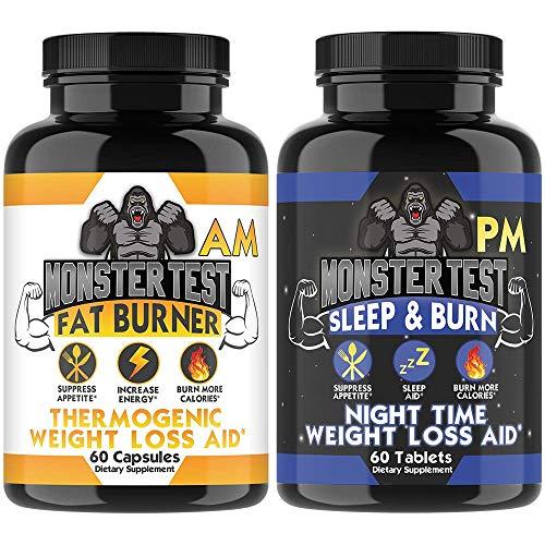Monster Test Fat Burner AM + PM The…