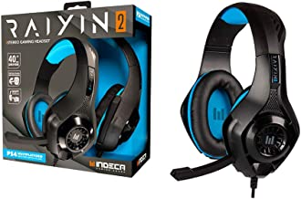 Indeca - Auricular casco estéreo multiplataforma Raiyin 2.0 (PS4, Xbox One, Pc, Mac)