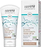 lavera basis sensitiv Getönte Feuchtigkeitscreme mittel LSF 10 - heller Teint