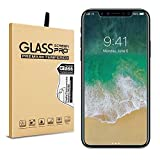 iPhone X Screen Protector Tempered Glass Full Coverage 9H Premium HD Hardness