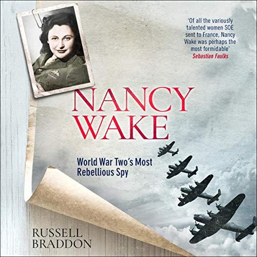 Nancy Wake audiobook cover art