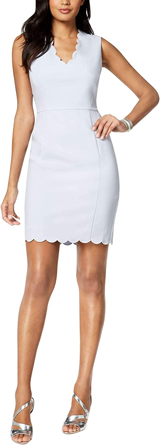 French Connection Bombing free shipping Women's Whisper Light 70% OFF Outlet D Scalloped Mini Stretch