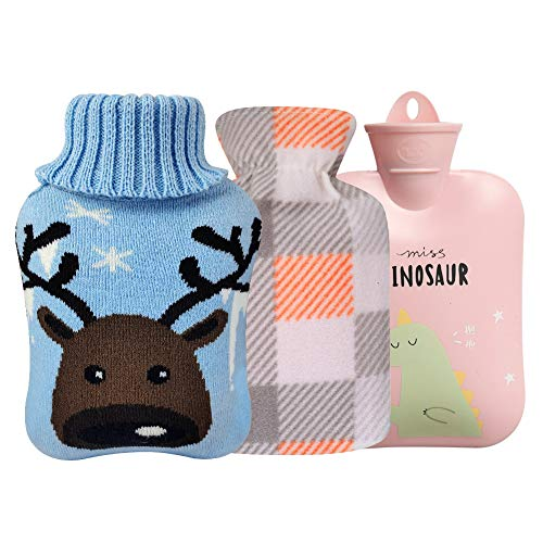 (50% OFF) Hot Water Bottle W/ 2 Knit Covers $7.49 – Coupon Code