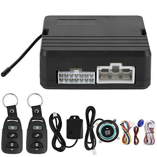Arrancadores remotos, un botón Arranque del Motor Sistema de Alarma de vibración del automóvil Empuje de Encendido y Control Remoto 12 V (número 3)