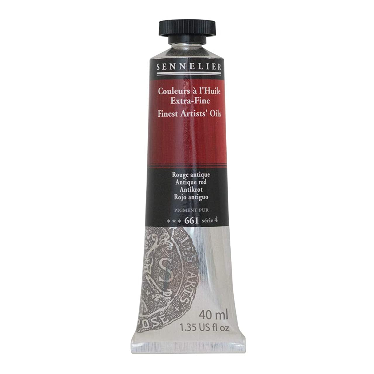 SENNELIER Artists' Extra Fine Oil, 40ml Tube, Series 4, Antique Red, (10-130411-661)