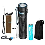 OLIGHT S2R II 1150 Lumen Rechargeable Flashlight with Battery & LumenTac Holster