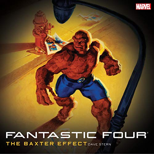Fantastic Four: The Baxter Effect cover art