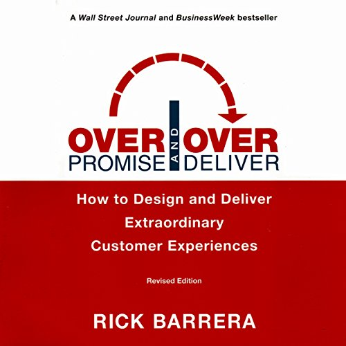 Overpromise and Overdeliver, Revised Edition audiobook cover art