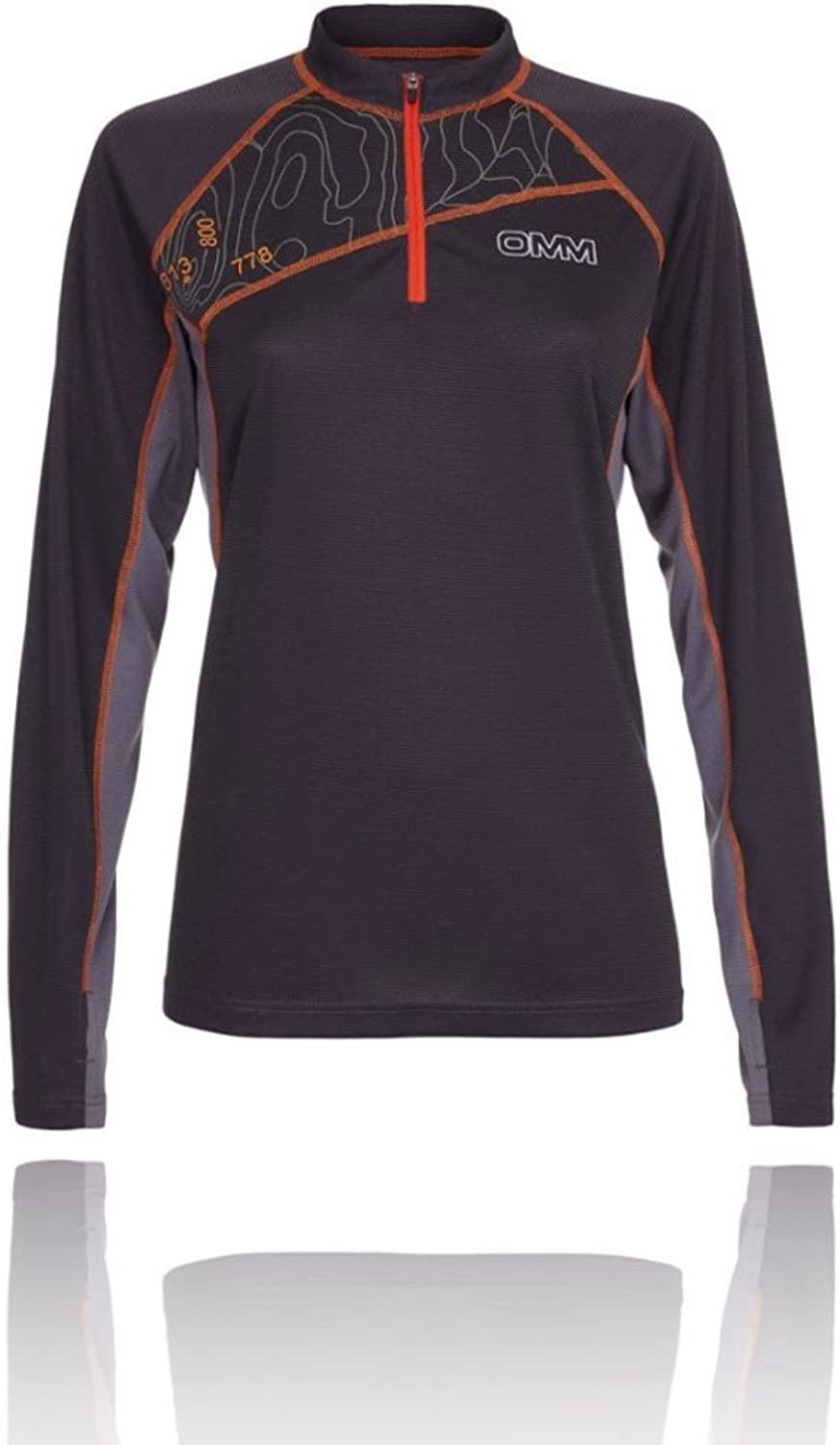 OMM Grid Women's Running Top  SS19