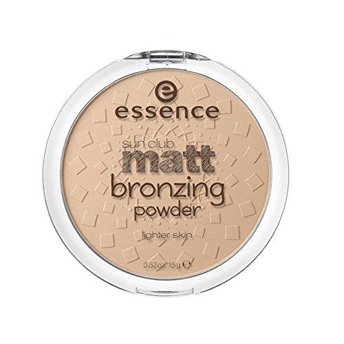 essence - Bronzer - sun club matt bronzing powder - 01 natural