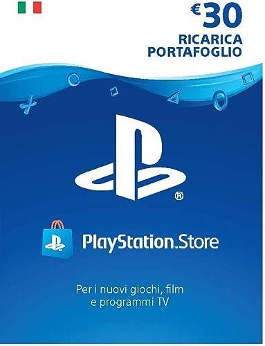 PlayStation Network PSN Card 30€ | Codice download per PSN - Account italiano