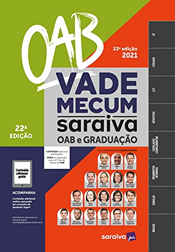 Vade Mecum OAB e Graduação - 22ª edição 2021