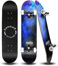 PHOEROS Skateboards -Standard Skateboards for Kids Boys Girls Youths Beginners Starter-Complete Skate Boards 31''x 8''Canadian Maple Pro Cruiser