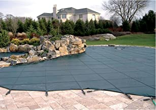 Swimming Pool Winter Cover - Loop Loc Ultra Loc Solid W/ No Drain Panels - 16 X 32