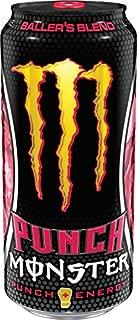 Monster Energy Punch - 6 - 16oz Cans (Baller's Blend)