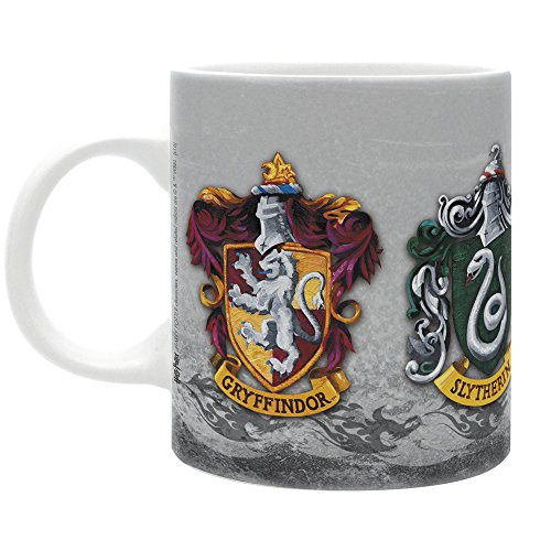ABYstyle – Harry Potter – Tasse – 320 ml – die 4 Häuser