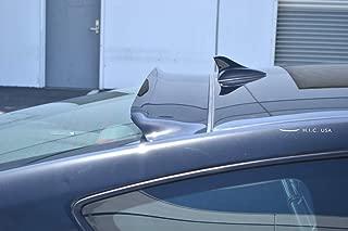 HIC USA 2008 to 2016 Genesis 2 Door Rear Visor (Glossy Black)