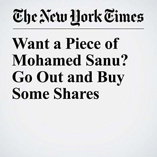 Want a Piece of Mohamed Sanu? Go Out and Buy Some Shares copertina