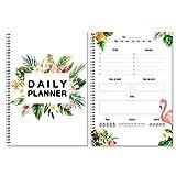 Agenda giornaliera con fenicotteri senza data / to do list / agenda con fenicotteri 2021 /...