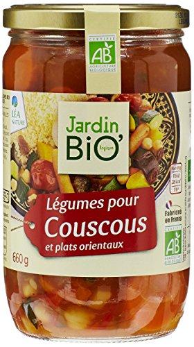 Jardin Bio Légumes pour Couscous, 660g