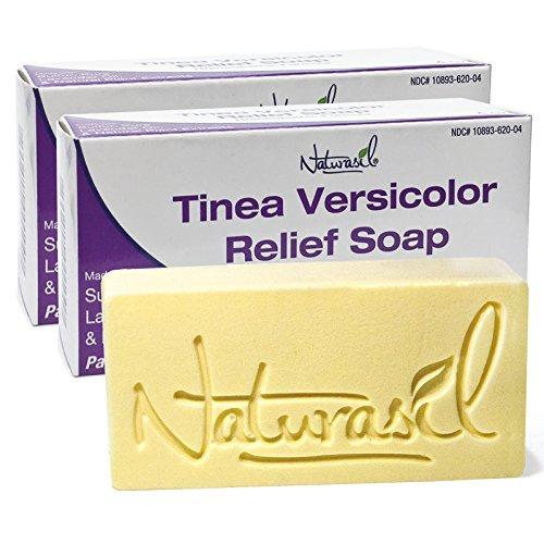 Naturasil Tinea Versicolor 10% Sulfur Soap - 4oz Bars - 2 Pack