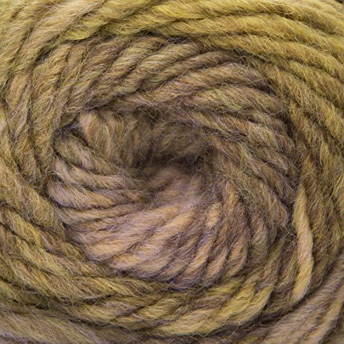 ggh Joker - 023 - Marrón-Beige-Olive moteado - Lana nueva con gradiente de color para tejer y hacer ganchillo