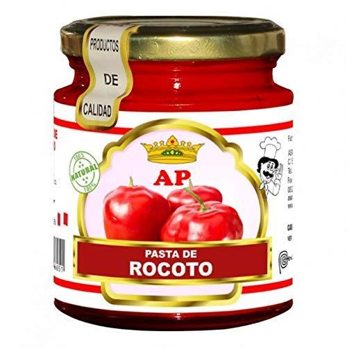 Asian Powers- Pasta Rocoto - Pasta Piccante- Prodotto 100% Peruviano- Ideale Per Dare Un Sapore Speciale Ai Vostri Pasti- 227 Grammi