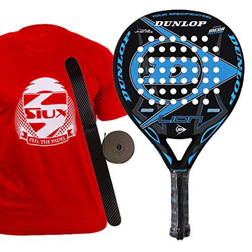 Dunlop Lion Pala de pádel, Unisex Adulto, Multicolor, 38 mm ...