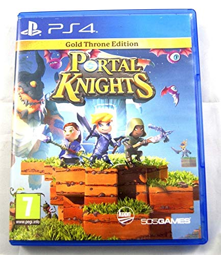 Portal Knights PS4 Gold Throne Edition