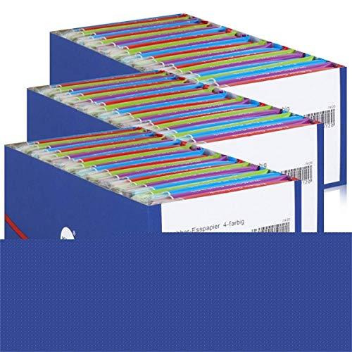 Küchle Knabber Esspapier 4-farbig 625g - Verschiedene Geschmäcker (3er Pack)