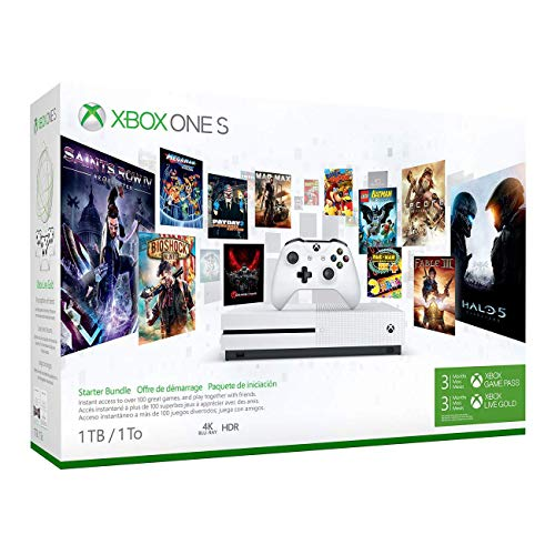 Xbox One S 1TB console plus Rare Replay