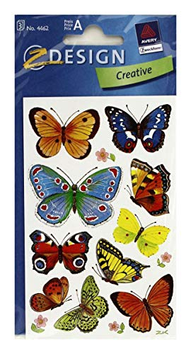 AVERY Zweckform 4462 deco sticker vlinders 30 stickers