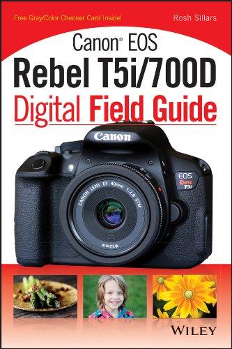 Canon EOS Rebel T5i/700D Digital Field Guide (English Edition)