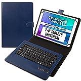 Cooper Infinite Executive Coque pour Tablettes de 7 à 8 Pouces | Étui Universal Fit | Clavier sans...