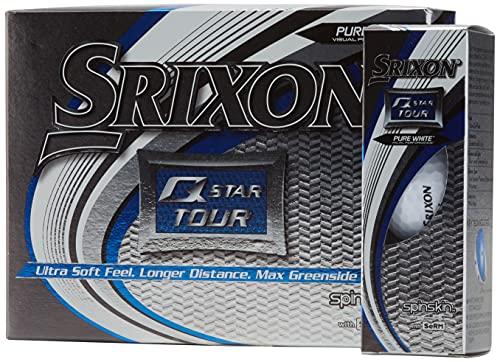 Srixon AD 333 Tour- Bolas de Golf, blanco, 4 paquetes de 3 bolas (total 12 bolas) - El empaque puede variar