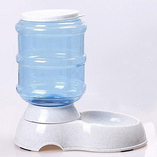 Dxlta Nuevo 3.5L/14L alimentador automático de mascotas fuente de agua de gato perro de plástico de alimentos Bowl mascotas dispensador de agua