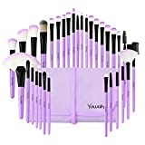 Yuwaku Makeup Brush 32pcs Purple