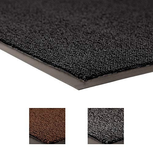 Notrax 231 Prelude Entrance Mat, for Home or Office, 3' X 10' Black, 3' Width x 3' Length