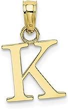 Best letter k pendant gold Reviews