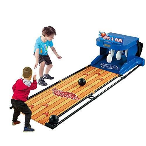 DLC Outdoor Lernspielzeug , Kids Bowling Set Indoor Kegelspiel Kinder Bowling Spiel Outdoor Party Spielzeug Mit 2 Kugeln Und 10 Pins Lustige Geschenke Für Kinder Jungen Mädchen 3 4 5 Jahre Alt