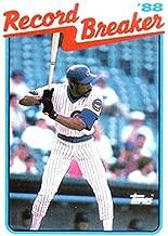 Baseball MLB 1989 Topps #4 Andre Dawson RB NM Cubs