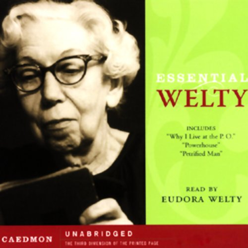 Essential Welty audiobook cover art